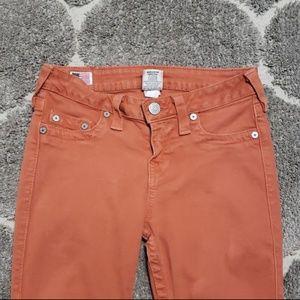 True Religion Jeans - True Religion Jeans Tara Super Skinny Ankle Zip